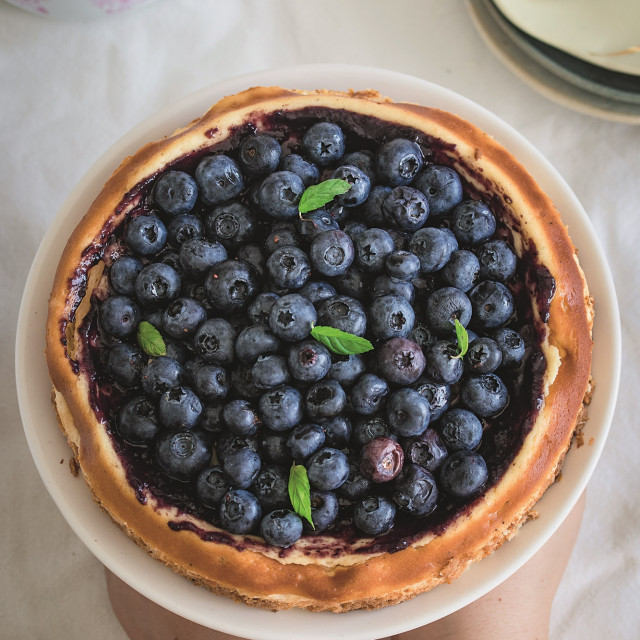 Torta-borovnice