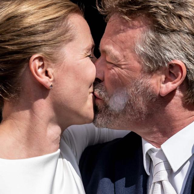 Mette Frederiksen i Bo Tengberg