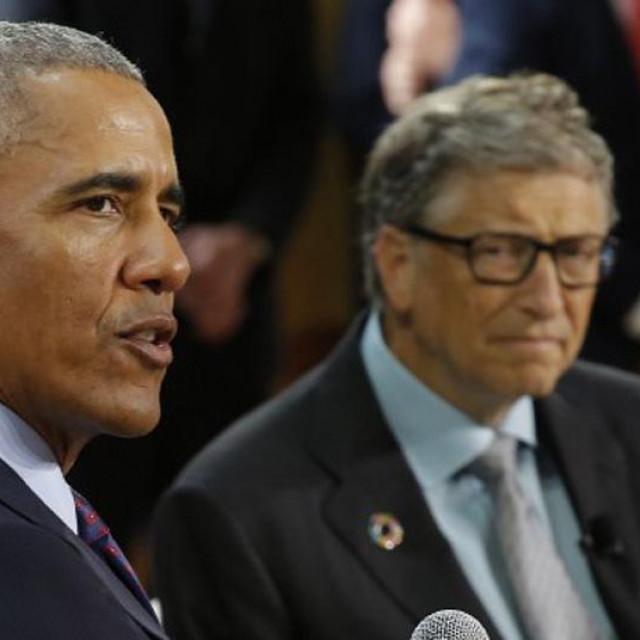 Barack Obama i Bill Gates