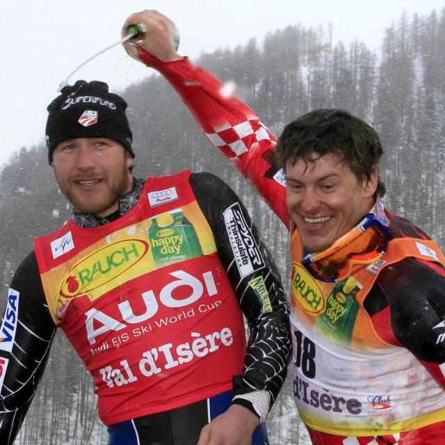 """Bode Miller i Ivica Kostelić vodili su """"bitke"""" u raznim disciplinama Svjetskog skijanja"""