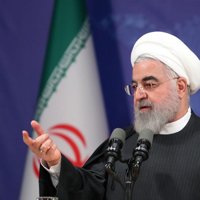 Kad se Iran izolira, postaje opasan. Vrijeme je za pregovore. Na slici: predsjednik Hassan Rouhani