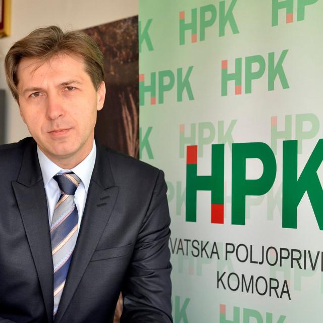 Mladen Jakopović, predsjednik Hrvatske poljoprivredne komore (HPK)