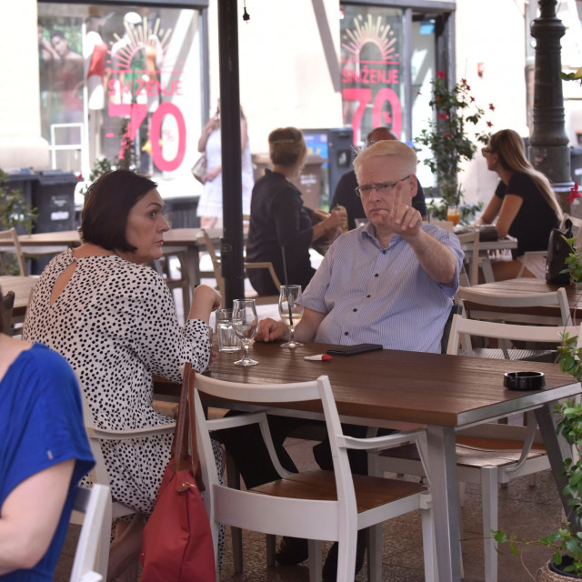 Ivo Josipović i supruga Tatjana Josipović.