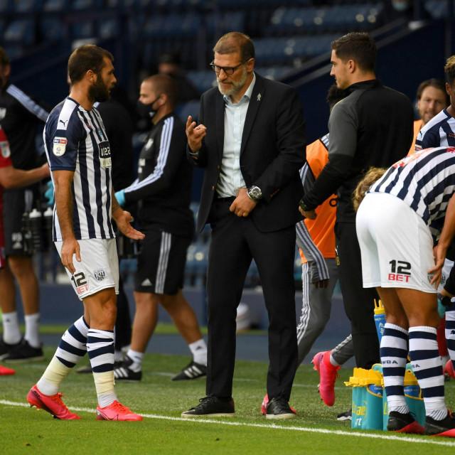 Slaven Bilić u utakmici protiv Fulhama