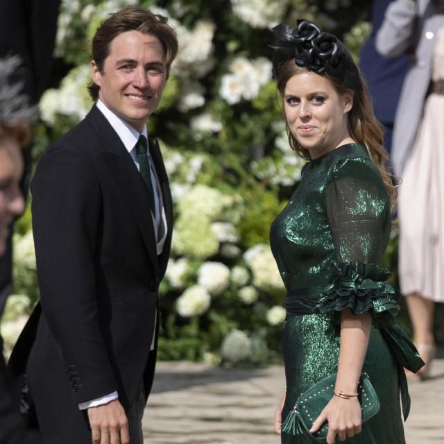 Edoardo Mapelli Mozzi i princeza Beatrice