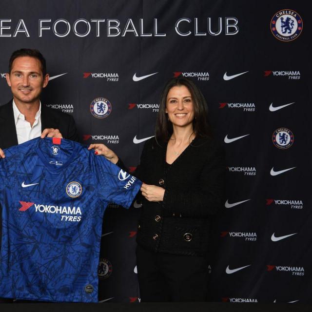 Frank Lampard u društvu uspješne direktorice kluba