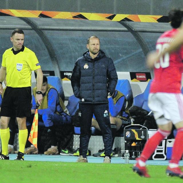 Rene Poms vodi Dinamo na čuvenoj utakmici protiv Benfice