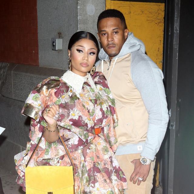 Nicki Minaj i Kenneth Petty