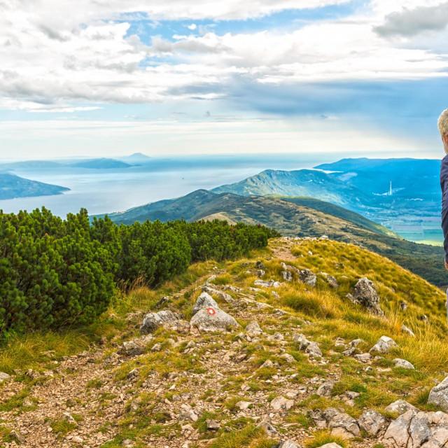 Pogled na istarsku Učku koja je dio Via Adriatice