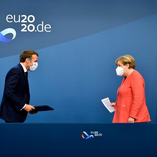 Njemačka kancelarka Angela Merkel i francuski predsjednik Emmanuel Macron, nova čvrsta osovina Berlin-Pariz