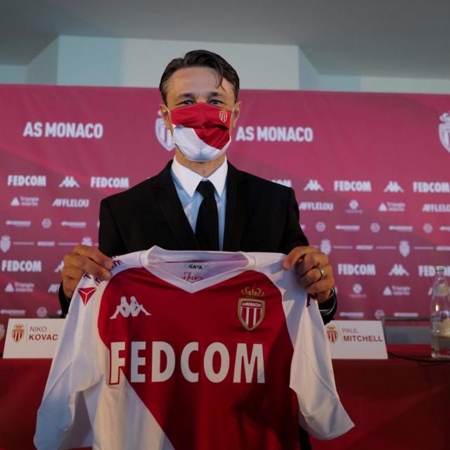 Monaco je treći klub u kojem će Niko Kovač biti glavni trener