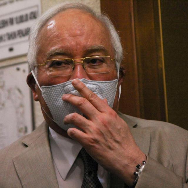 Bivši malezijski premijer Najib Razak