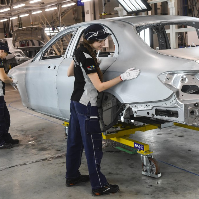 Daimler tvornica u Rusiji