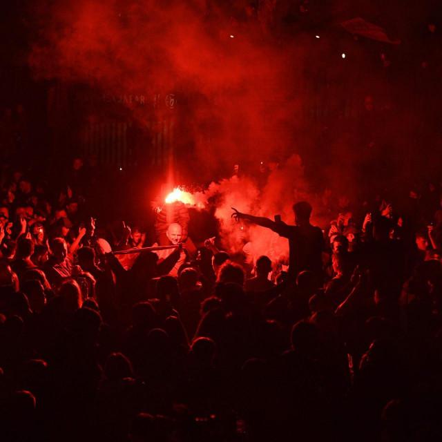 Slavlje Liverpoolovih navijača