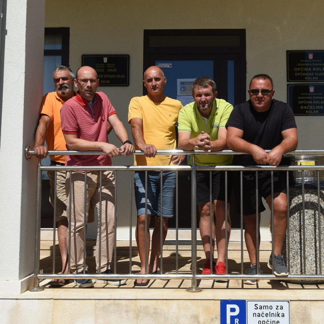 Slijeva na desno - Ivica Prtorić (HDZ), Šime Gligora (nezavisni), Ivan Čemeljić (Nezavisna lista mladih), Ante Zubović (HSS) te Mario Baričević (Neovisni za Hrvatsku)<br />