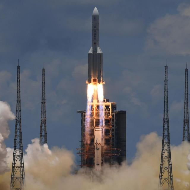 """Lansiranje rakete u sklopu misije na Mars """"Tianwen-1"""""""