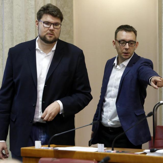 Peđa Grbin i Bojan Glavašević (arhivska fotografija)