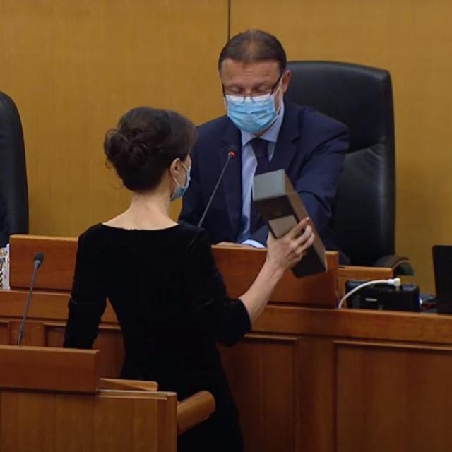 Dalija Orešković i Gordan Jandroković
