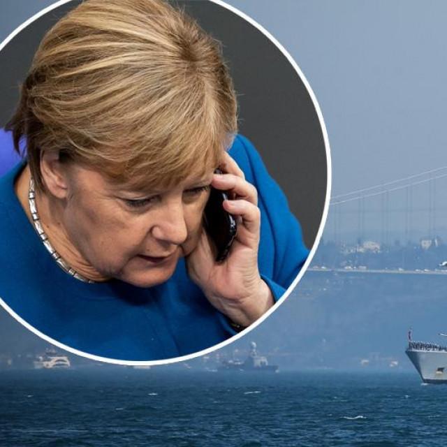 Turski ratni brod, Angela Merkel