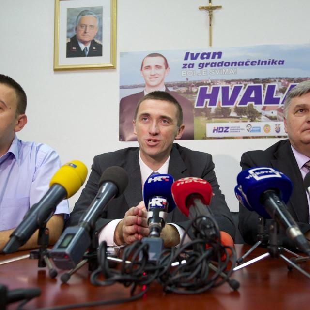 Marijan Pavliček, Ivan Penava i Damir Barna
