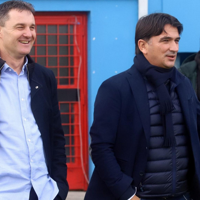 Samir Toplak i Zlatko Dalić