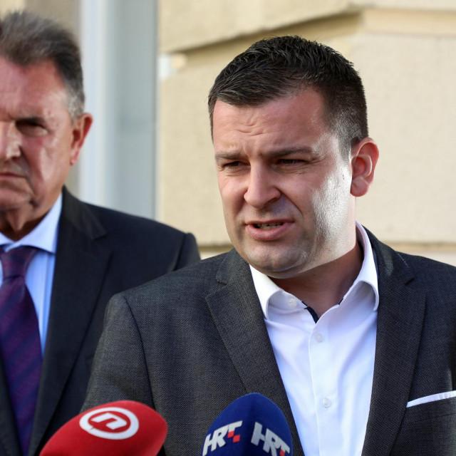 Radimir Čačić, Dario Hrebak