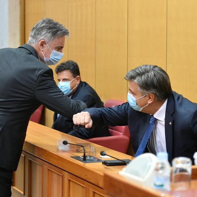 Miroslav Škoro i Andrej Plenković<br />