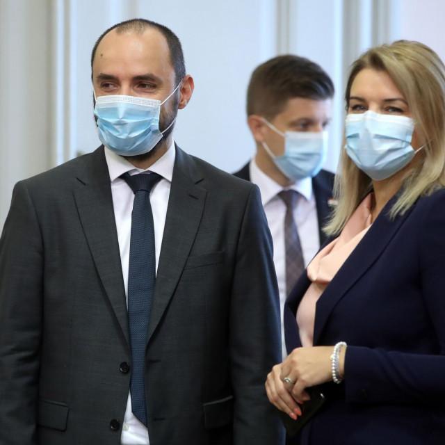 Boris Milošević i Nikolina Brnjac
