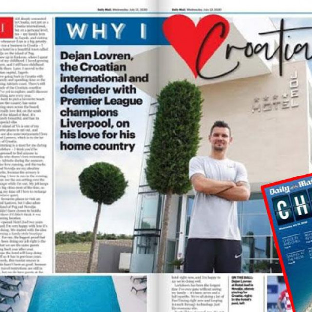 Daily Mail o Hrvatskoj
