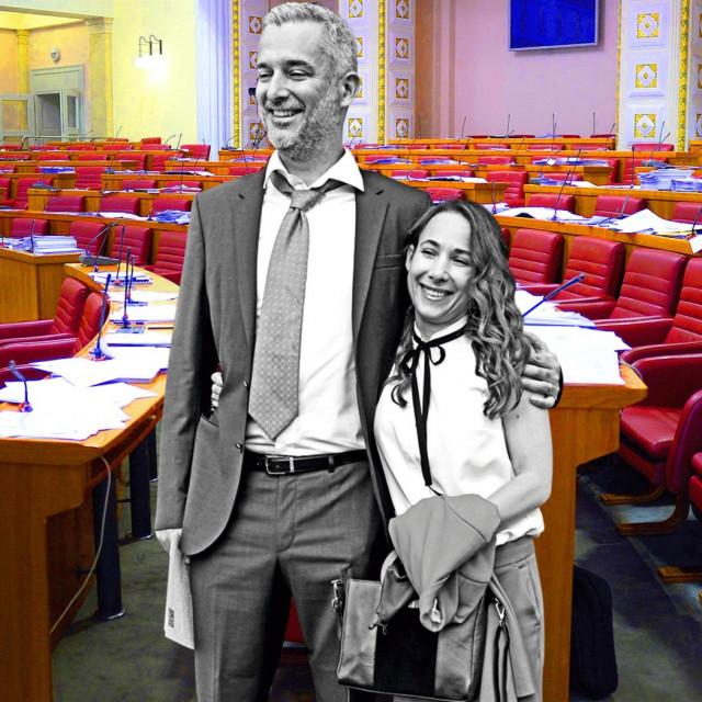 Nino Raspudić i Marija Selak Raspudić