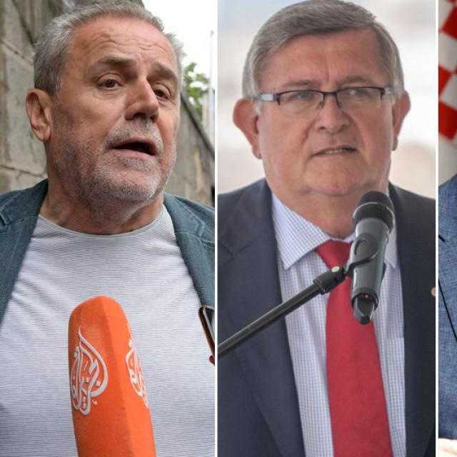 Milan Bandić, Vojko Obersnel, Andro Krstulović Opara i Ivica Vrkić