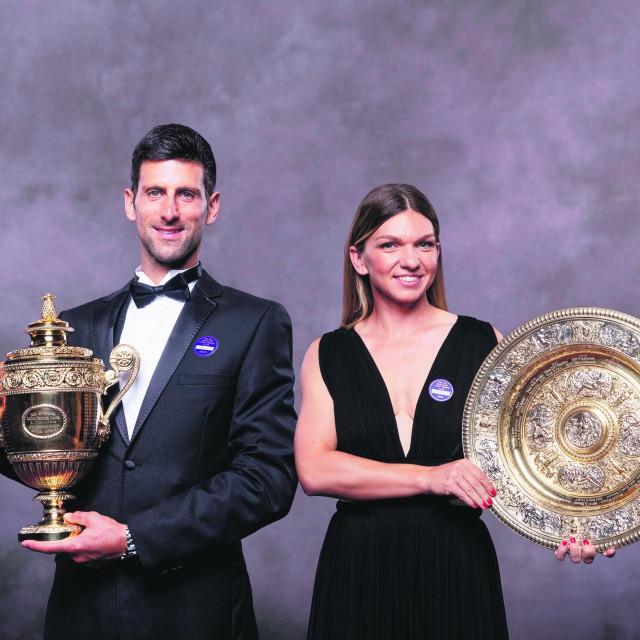 Simona Halep i Novak Đoković osvojili su Wimbledon prošle godine