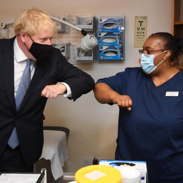 Premijer Boris Johnson