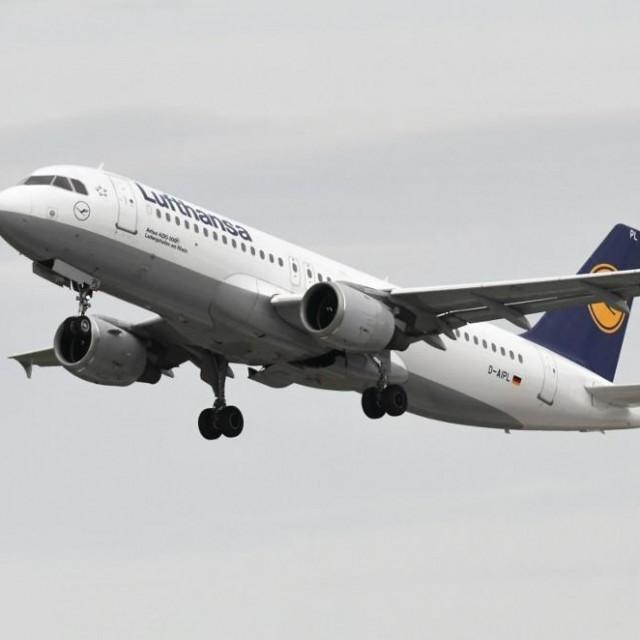 Airbus A-320 aviokompanije Lufthansa