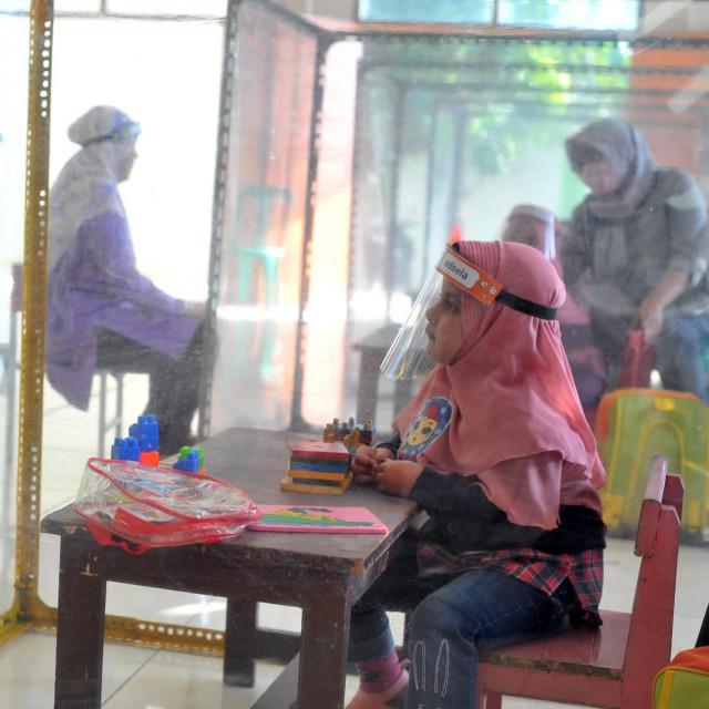 Vrtić u Semarangu na indonezijskom otoku Javi