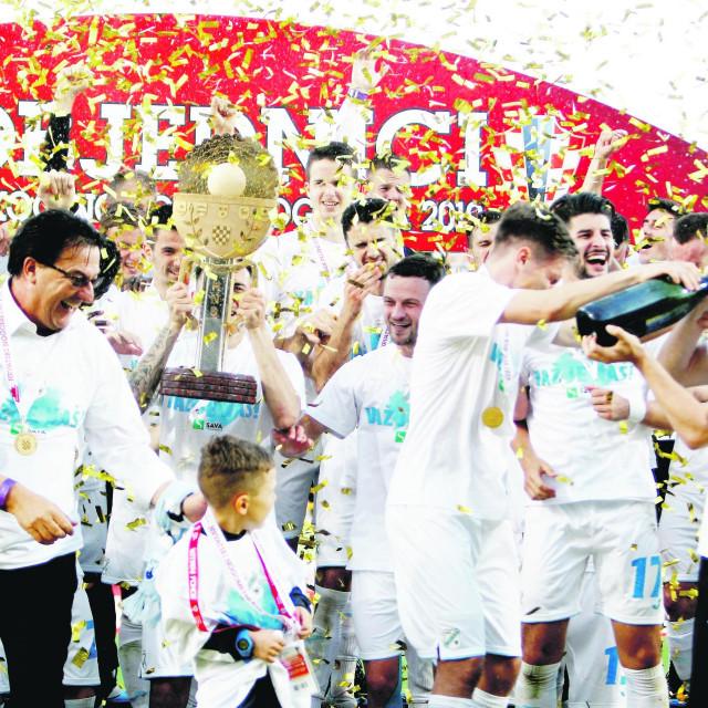 Rijeka je slavila 3:1 protiv Dinama u finalu Kupa prošle sezone
