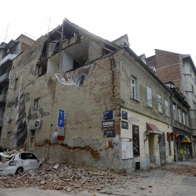 Petrinjska ulica u Zagrebu