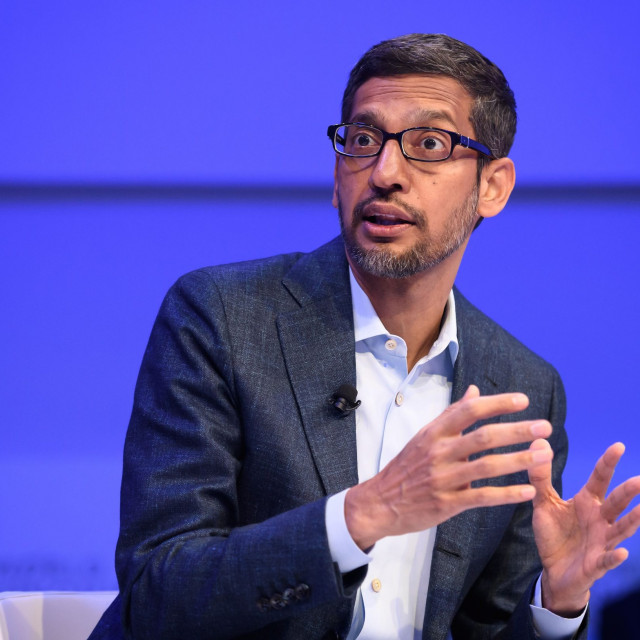 Sundar Pichai, izvršni direktor Alphabeta
