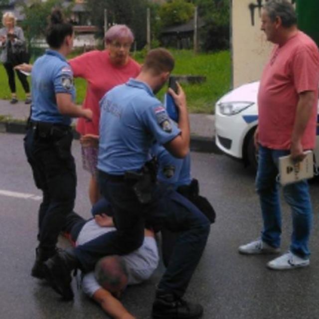 Uhićenje Tihomira Blagusa