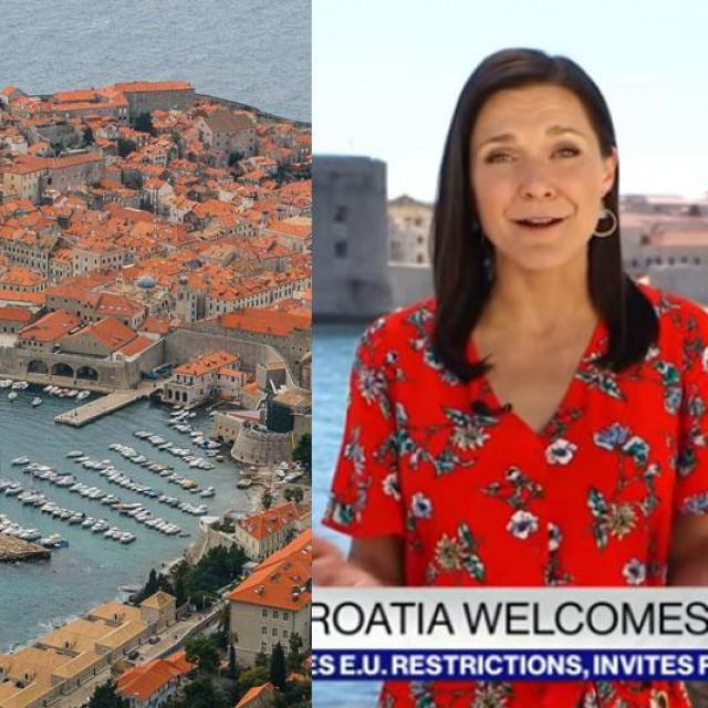 Američka novinarka u Dubrovniku
