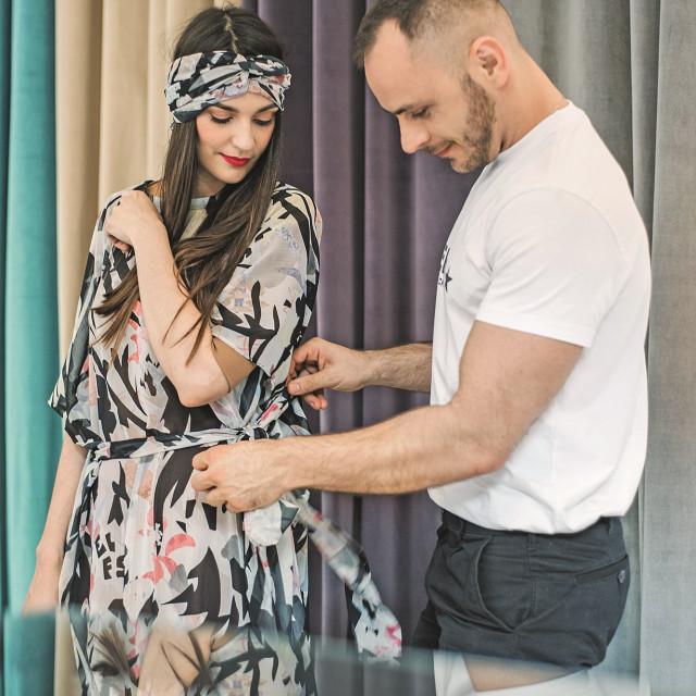 Ivan Tandarić savjetovao mi je kako haljinu prilagodim vlastitoj građi.