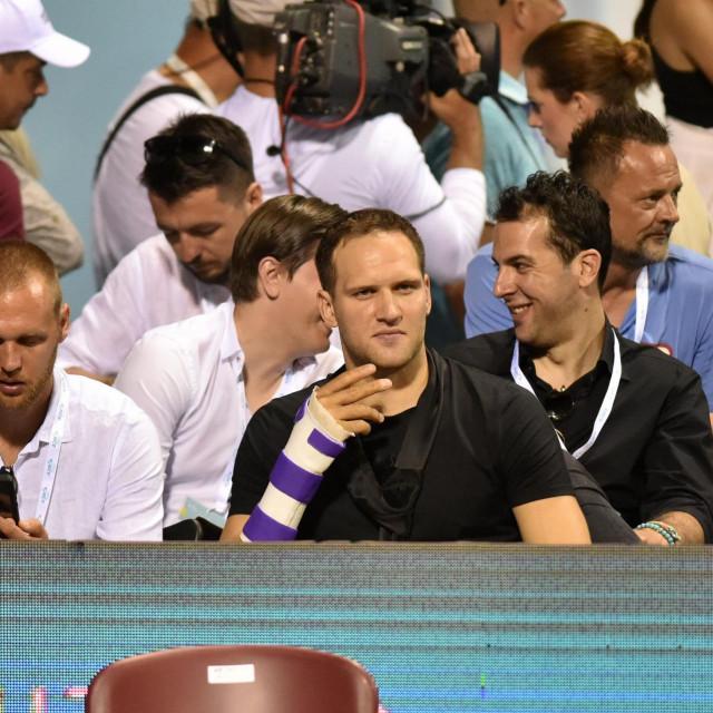 Bojan Bogdanović gledao je susret Novaka Đokovića i Borne Ćorića u Zadru
