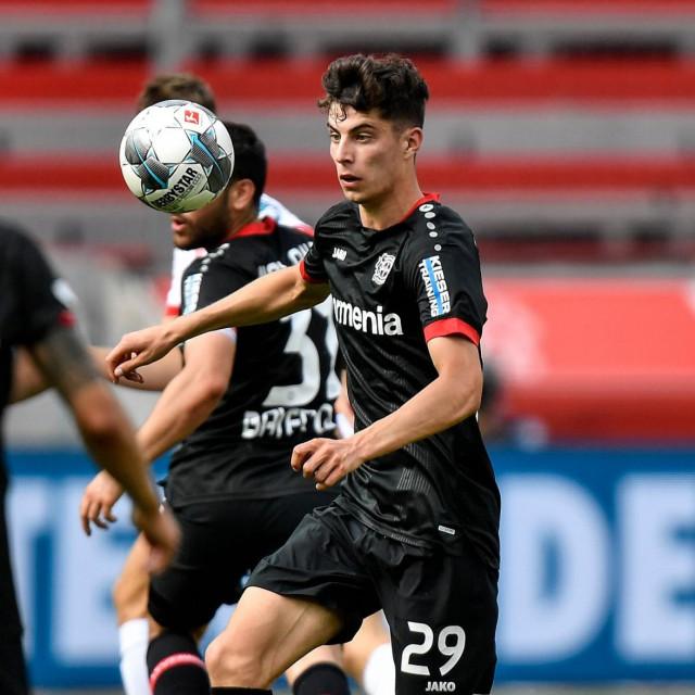 Kai Havertz tijekom susreta protiv Mainz 05