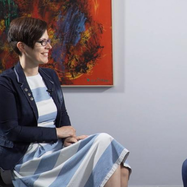 Maruška Vizek i Gojko Drljača