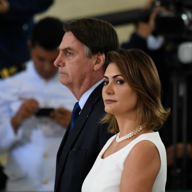 Jair i Michelle Bolsonaro