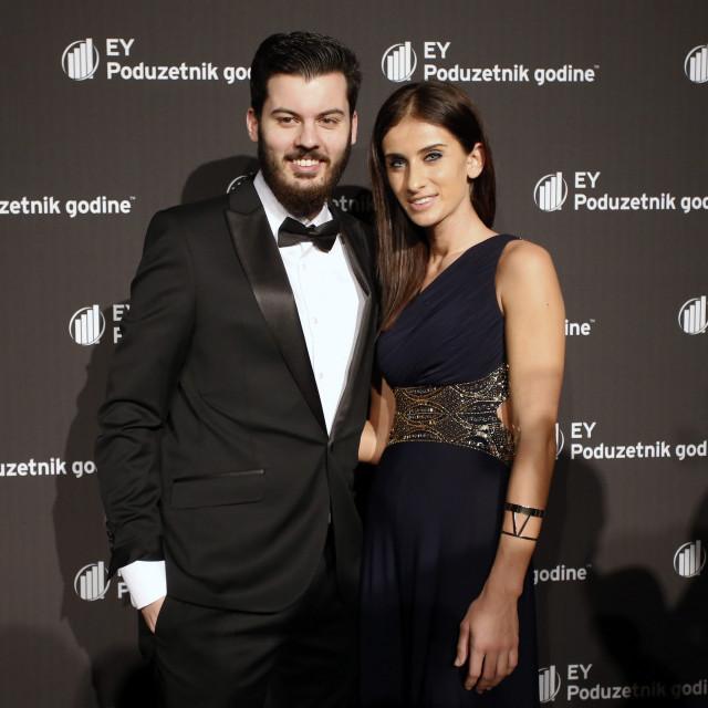 Mate Rimac s djevojkom Katarinom Lovrić
