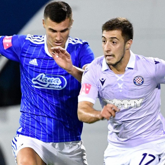 Josip Juranović u nedavnom derbiju protiv Dinama