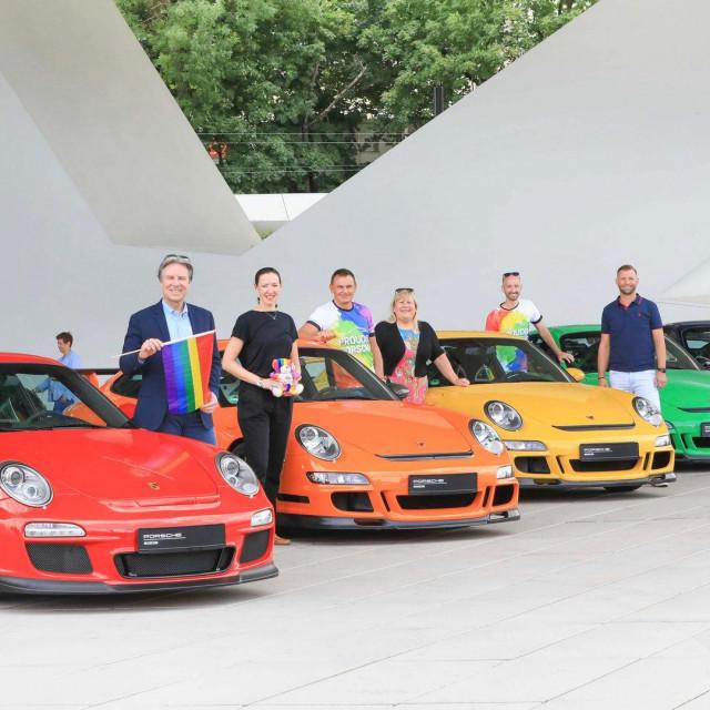 Porsche Gay pride