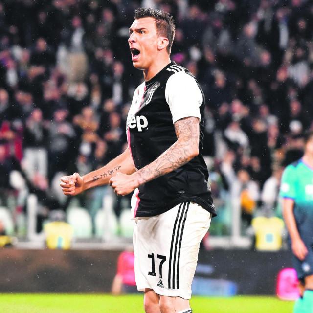 Mario Mandžukić u dresu Juventusa