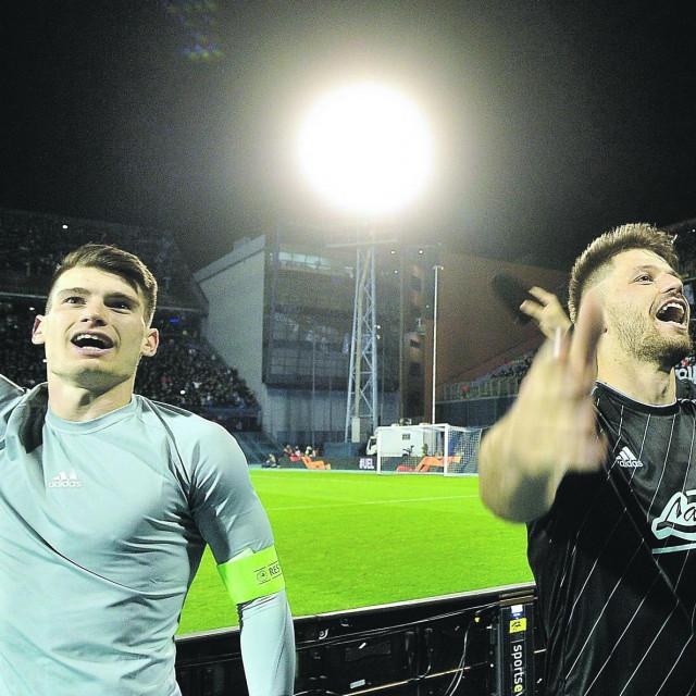 Dominik Livaković i Bruno Petković sigurno su obilježili ovu sezonu koja će se najviše pamtiti u mandatu Nenada Bjelice